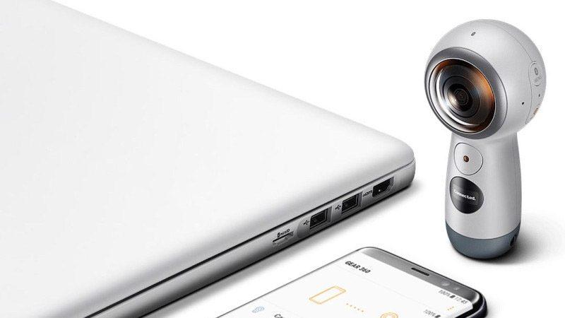 Samsung Gear 360 2017 - Migliori Fotocamere 360 gradi